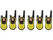 Motorola MH230TPR (6-Pack) Walkie Talkie 11 Weather Channels 7 NOAA