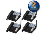 AT&T SB67148 Corded Extra Handset 4 Line 4 Pack Large Backlit LCD Display