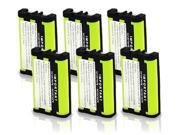 Battery for Uniden BT0003 (6-Pack) Replacement Battery for CLX Series & TCX 400 / TCX 440