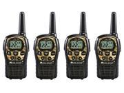 Midland LXT535VP3 Two Way Water Resistant Radio Value Pack (4 Pack) New