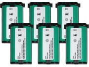 Battery for Panasonic P513 (6-Pack) Replacement Battery