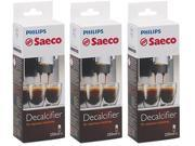 Saeco CA6700 Special Espresso Machine Decalcifier (3 Pack) New