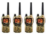 Midland  GXT895VP4 Xtra Talk Two Way Radio Up To 36 Mile Range 4 Pack New