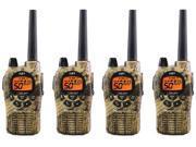 Midland GXT1050VP4 Camo  (4 Pack) 2Way Radio