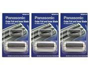 Panasonic WES9011PC Replacement Shaver Outer Foil and Blade Set (3 Pack)