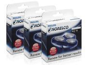 Norelco RQ10 (3-Pack) 3 Replacement Heads