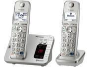 Panasonic KXTGE262SS Panasonic KXTGE262S Dect 6.0 2 Digital Cordless Handset