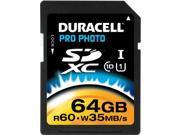 Duracell DEMDUSDHS64GRB Duracell Du-sdhs64g-r Sdxc Card 64GB