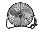 Lasko 20 Inch High Velocity Floor Fan with QuickMount High Velocity Floor Fan