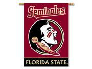 Bsi Products Inc Florida State Seminoles 2-Sided Banner with Pole Sleeve Banner 9SIA00Y44V3657