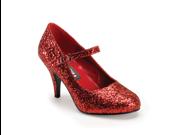 Dorothy Red Glitter Mary Jane Pumps High Heel Shoes 9SIA2K31ZU2185