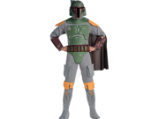 Star Wars Boba Fett Deluxe Adult Costume 9SIA0192076231