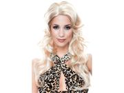 Sexy Womens Costume Wig Blonde Bombshell Long Wavy Hair