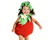 Toddler Suzie Strawberry with Headpiece Costume Princess Paradise 4698