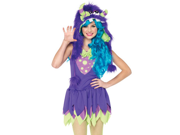 Teen Gerty Growler Monster Costume by Leg Avenue J48060