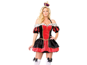 New Sexy Womens Queen Outfit Adult Halloween Costume