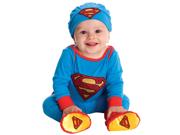 Newborn Infant Baby Boys Superman Halloween Costume One-Piece Bodysuit