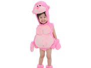 Infant Baby Girls Pink Gorilla Monkey Halloween Costume