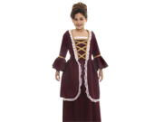Kids Girls Colonial Historical American Revolution Halloween Costume