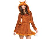 Junior Teen Girls Furry Fox Kitsune Cosplay Halloween Costume