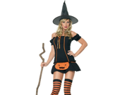Sexy Halloween Costumes Wicked Pumpkin Witch Costume