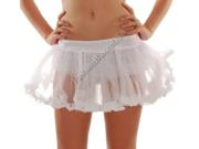 NEW Short White Lace Petticoat Crinoline Skirt Slip