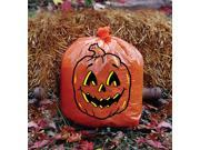 Jack O Lantern Pumpkin Halloween Decoration Leaf Lawn Bag