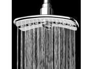 """AKDY® 9"""" Luxury Rectangle Bathroom Double Function Rainfall ABS Shower Head"""