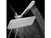 AKDY® Bathroom Luxury Rainfall Style Dual Shower Head Set Handheld & Over Head Shower Combo