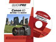 QuickPro Camera Training DVD for Canon 6D Beyond the Basics Video Guide NEW