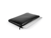 """GMYLE (R) Black PU Leather Dual Zipper Sleeve Case Cover For 13"""" Macbook Air"""