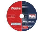 Autodata 11-CDX650 2011 Wiring Diagrams Body, Audio/Visual, Climate