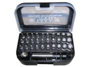 VIM Tools VIS112 32 Piece Master Ball Drive Bit Set 9SIA1B139N4937