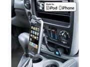 Bracketron IPM-424-BX Universal 12V Power Flex Neck Dock with U-Grip Holder and USB Port for iPod/iPhone/iPhone 5