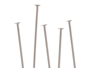 Head Pins, 3/4 Inch Long and 22 Gauge Thick, 20 Pcs, Sterling Silver 9SIA1B60HF7299