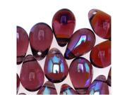 Czech Glass Beads 9mm Teardrop Amethyst Purple AB (50 Pieces) 9SIA1B60FF3420
