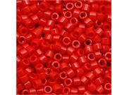 """Miyuki Delica Seed Beads 11/0 """"Opaque Red"""" Db723 7.2 Gr"""