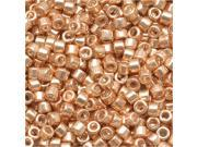 """Delica Seed Bead 11/0 """"Galvanized Gold"""" Db411 7.2 Gr"""