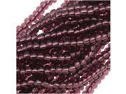 """Czech Seed Beads 11/0 """"Amethyst Purple Foil Lined"""" Hank"""