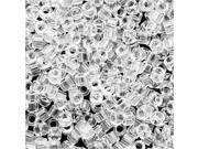 Miyuki Delica Seed Beads 11/0 Transparent Crystal DB141 - 7.2 Gram Tube