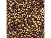 Delica Seed Bead 11/0 Metal Earth Batik Luster 7.2Gr