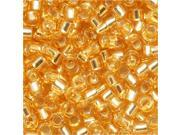 Delica 10/0 Seed Bead Silver Lined Gold Dbm0042 8 Gr
