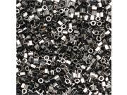 Delica Seed Bead Hex 15/0 Palladium Plated Dbsc038 4Gr