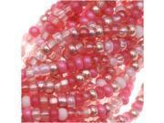 "Czech Seed Beads Size 11/0 ""Pretty Princess Pink"" (1 Hank)"