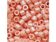Delica Seed Bead 10/0 Opaque Salmon AB Pink Dbm0207 8Gr