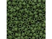 Delica Seed Bead 11/0 Mat Op. Avocado Green Db1585 7.2G