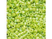 Miyuki Delica Seed Beads 11/0 Opaque Chartreuse AB DB169 7.2 Grams