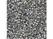 Miyuki Delica Seed Beads 11/0 - Matte Palladium Plated DB336 7.2 Grams