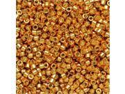 Miyuki Delica Seed Beads 11/0 - Duracoat Galvanized Yellow Gold DB1833 7.2 Grams