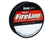 "Fireline Braided Beading Thread, 10 LB Test / .010"" Thick, 50 Yds, Crystal Clear"